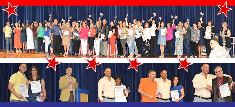 Image for More than 80 new citizens celebrate after graduating from program at Jefferson Adult