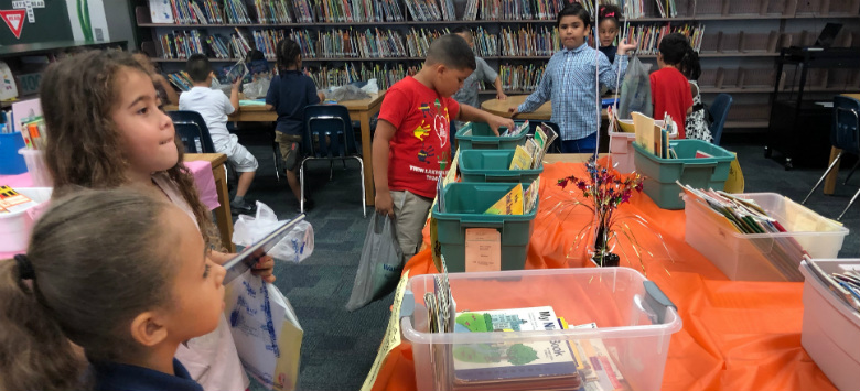 Image for Generous Westchase readers help Twin Lakes students stock up on summer reading