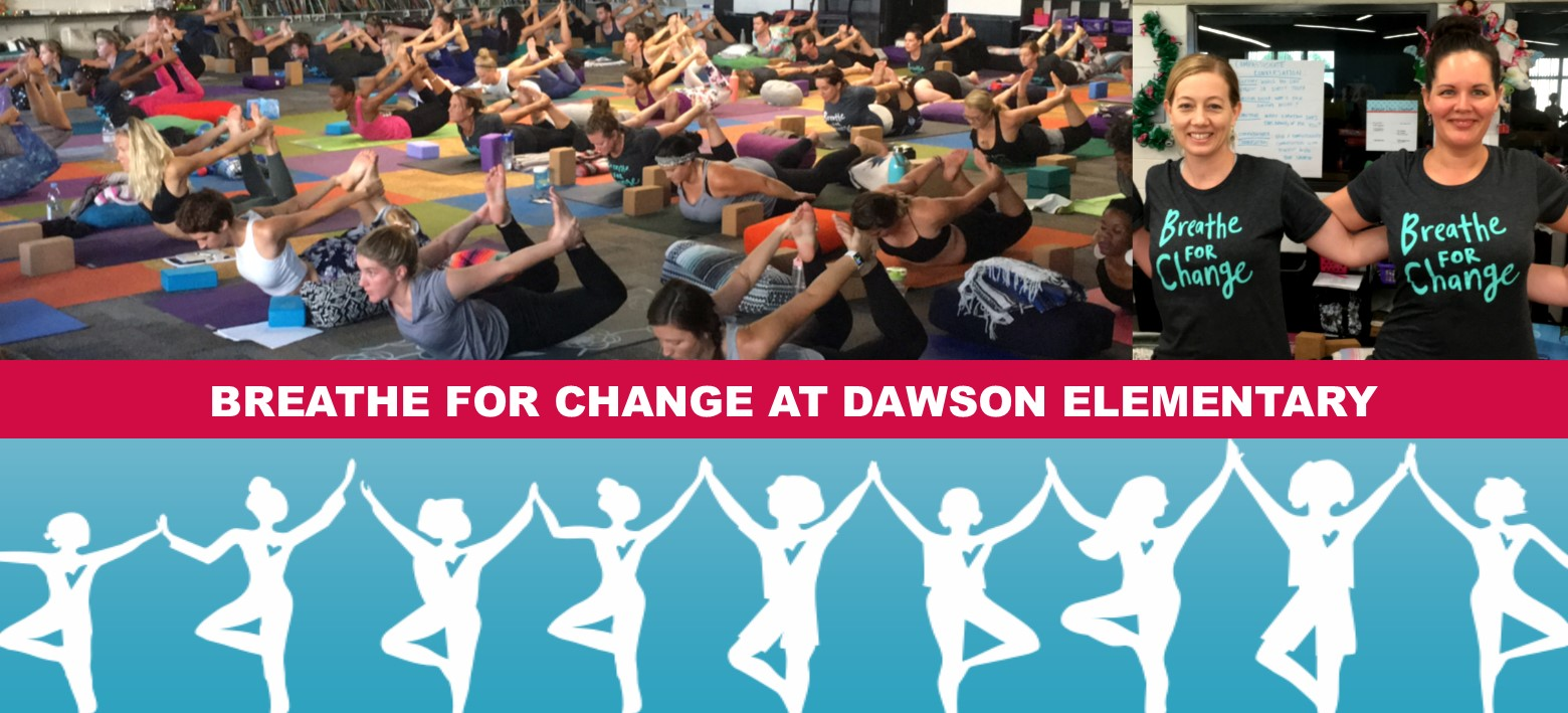 Image for Teachers throughout Hillsborough County and the country are retreating to Dawson Elementary to Breathe For Change