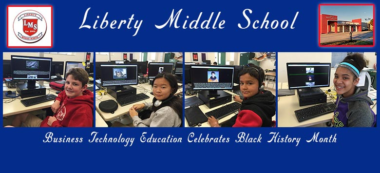 Image for Liberty MS Technology classes spotlight Black History Month