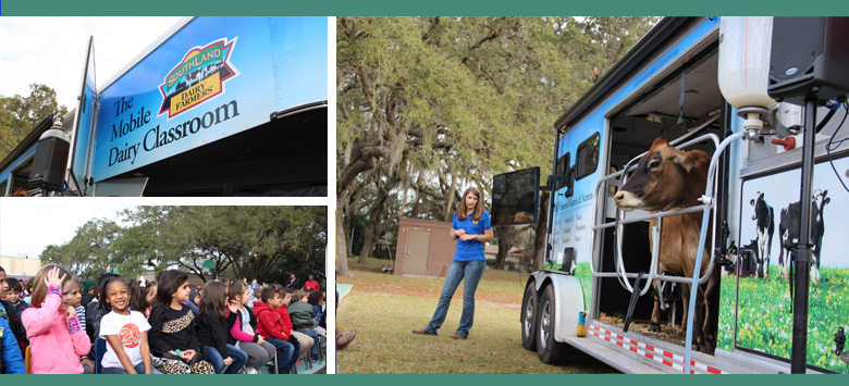 Image for The Mobile Dairy Classroom visits HCPS students