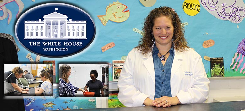 Image for Robinson HS teacher receives invitation to the White House