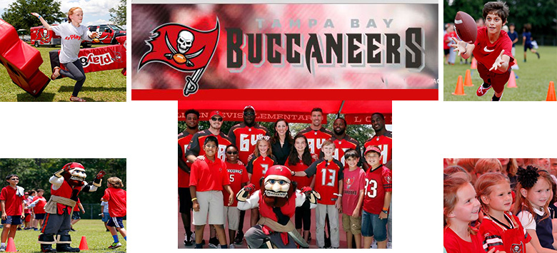 Image for Bevis Elementary was dedicated as the 24th Buccaneers Academy