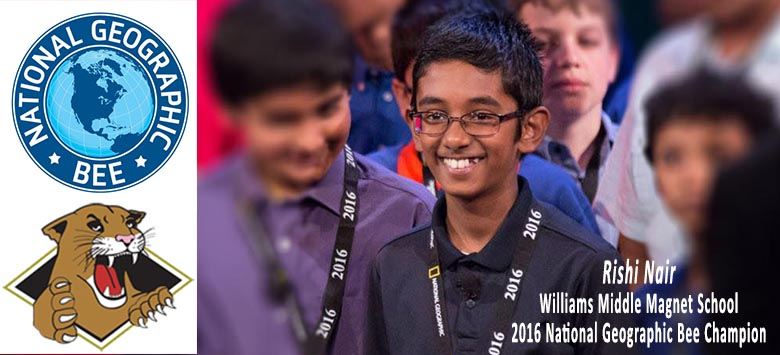 Image for Hard work pays off for 2016 National Geographic Bee champ!