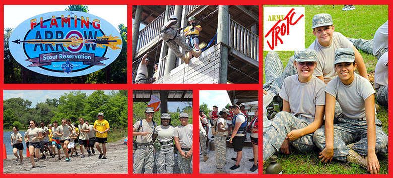Image for JROTC Cadet Leadership Challenge inspires commitment, courage, and camaraderie!