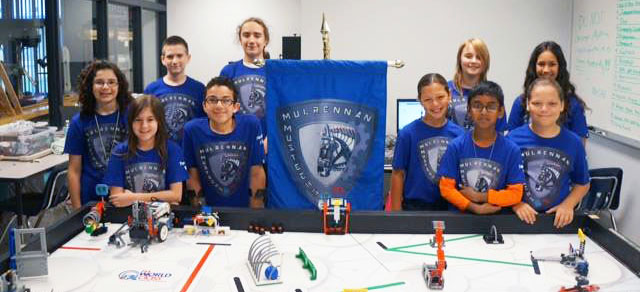 Image for Mulrennen Mustechs compete in FIRST LEGO League World Class Open Invitational Championship