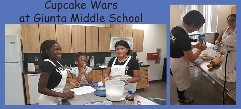 Image for Summer Series: Cupcake Wars Camp at Giunta Middle School