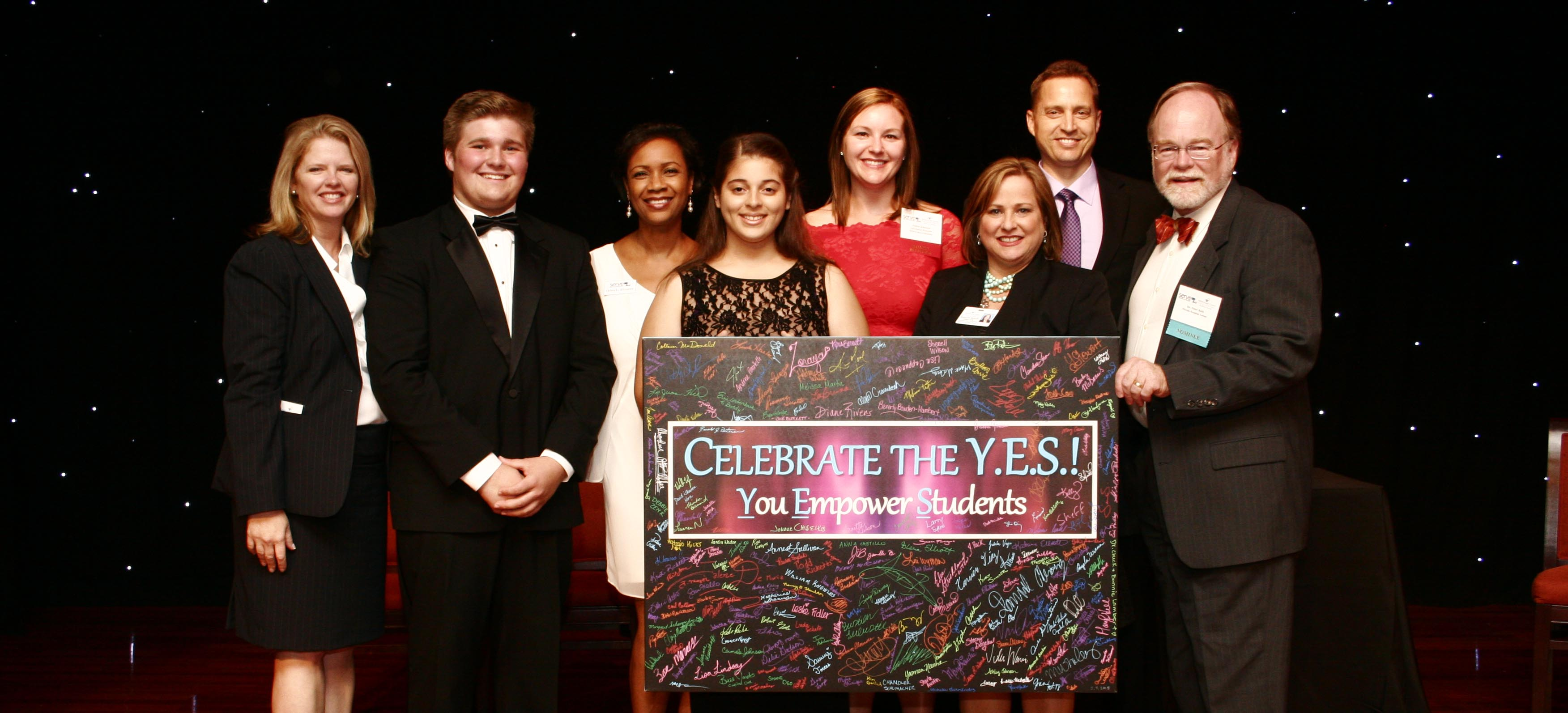 Image for SERVE celebrated the YES! (You Empower Students)