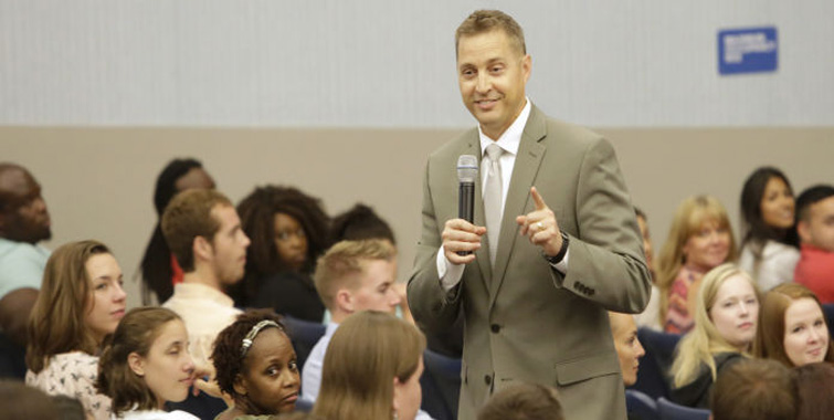 Image for District leaders welcome hundreds of new teachers to HCPS