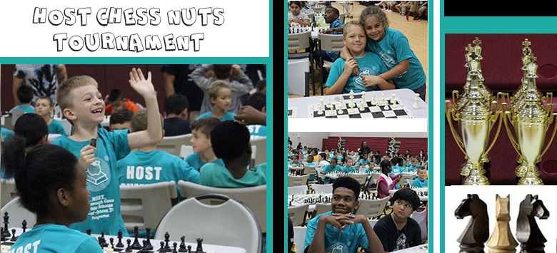 Image for Students compete in the 2nd Annual HOST Chess Nuts