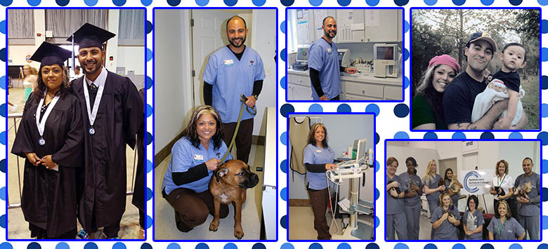Image for Husband and wife team up in Veterinary Assisting program to pursue dream career