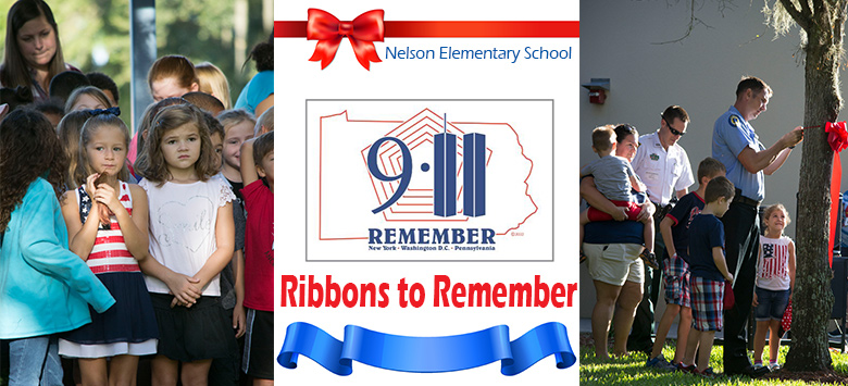Image for Nelson Elementary honors heroes with Ribbons to Remember