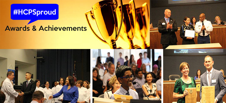 Image for School Board Recognizes Achievements