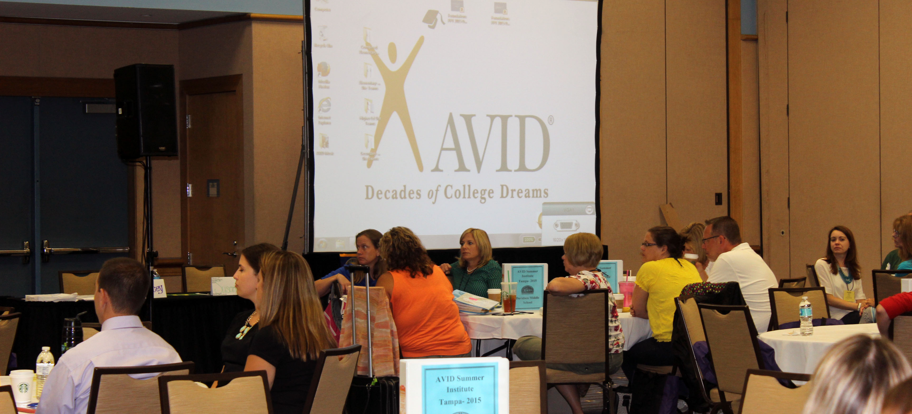 Image for Tampa Hosts 2015 AVID Summer Institute