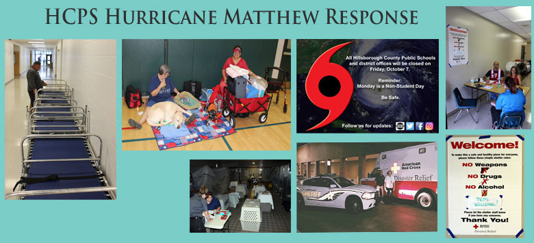 Image for District provides safe shelters in response to Hurricane Matthew