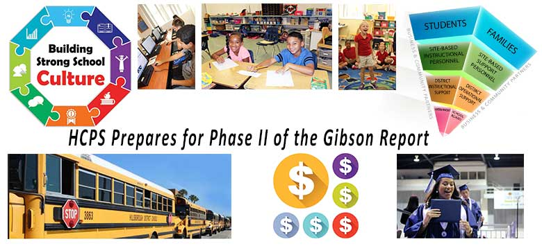 Image for HCPS prepares for Phase II Gibson Report Workshop