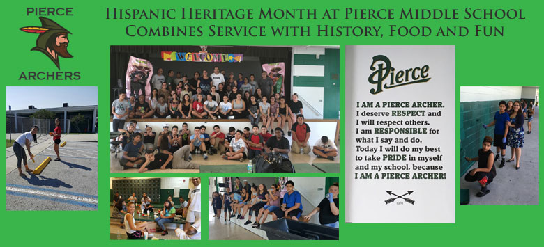 Image for Pierce Archers Show Pride During Hispanic Heritage Month