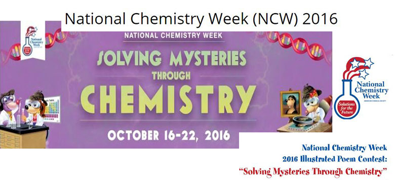 Image for National Chemistry Week: 2016 Illustrated Poem Contest