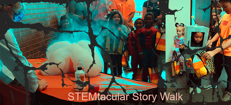 Image for Rampello students enjoyed a STEMtacular Storybook Walk