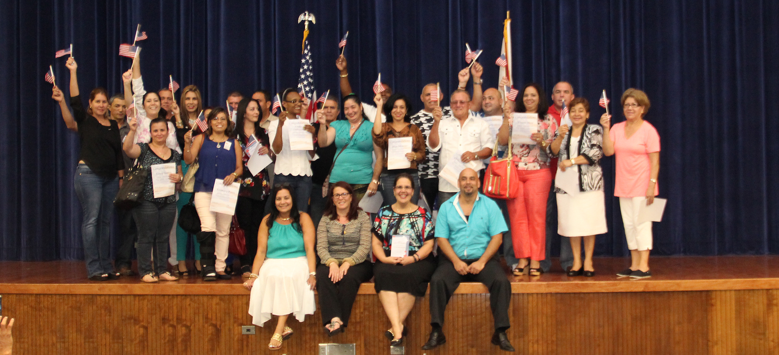 Image for Adult Education Celebrates New Citizens