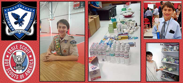 Image for Armwood Collegiate Academy freshman earns Eagle Scout rank