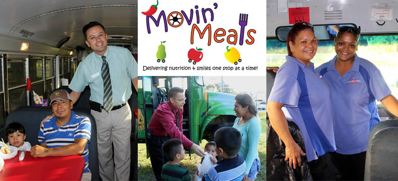 Image for Movin' Meals delivers nutrition and smiles to children over the summer