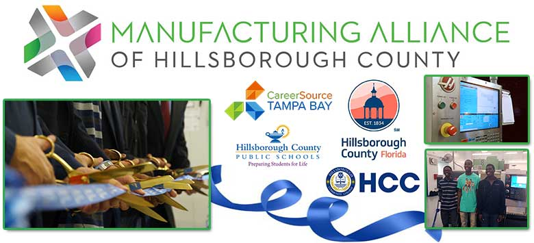 Image for Hillsborough Manufacturing Alliance unveiled new technology for Armwood HS Machining Program