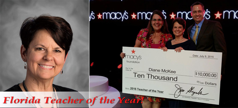 Image for Hillsborough County's Diane McKee Named Florida's Teacher of the Year