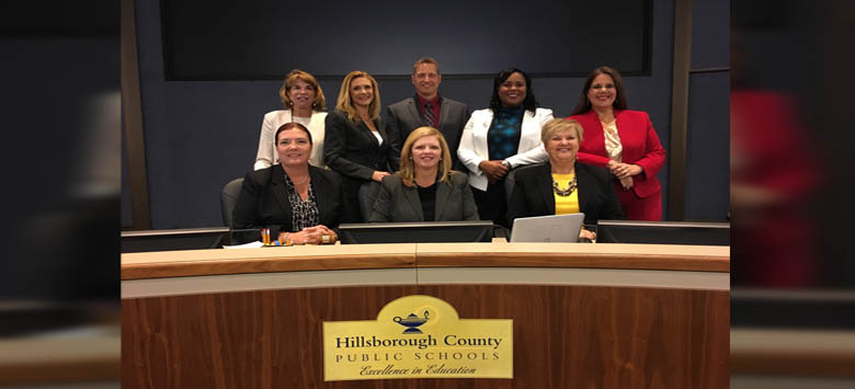 Image for New Board Members Sworn in to Hillsborough County School Board