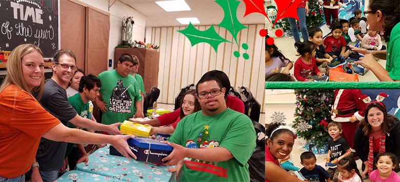 Image for Holiday Heroes: Willis Peters' service learning project leads to smiles at Dover