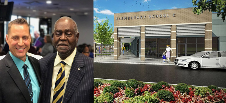 Image for HCPS names newest elementary school after local community leader