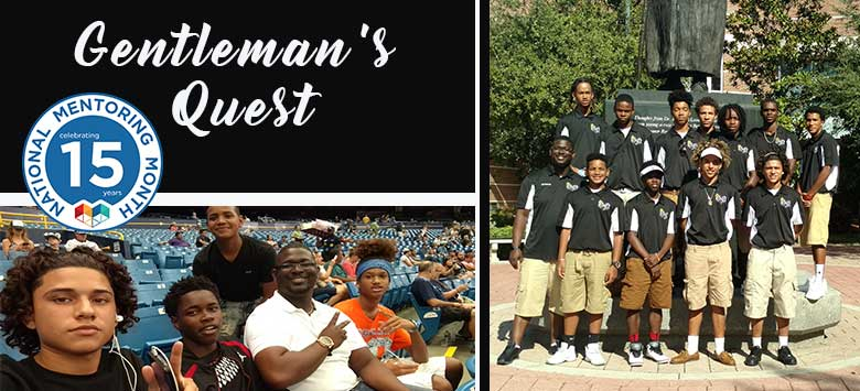 Image for National Mentoring Month: Spotlight on Gentleman's Quest