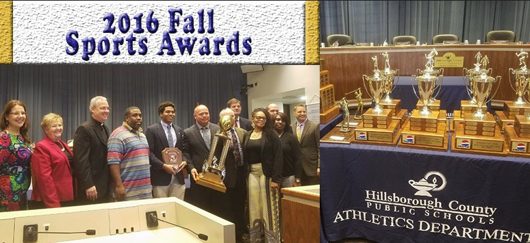 Image for District celebrates students at the Fall Sports Awards