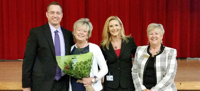 Image for Newsome Principal Wins Outstanding Principal of The Year