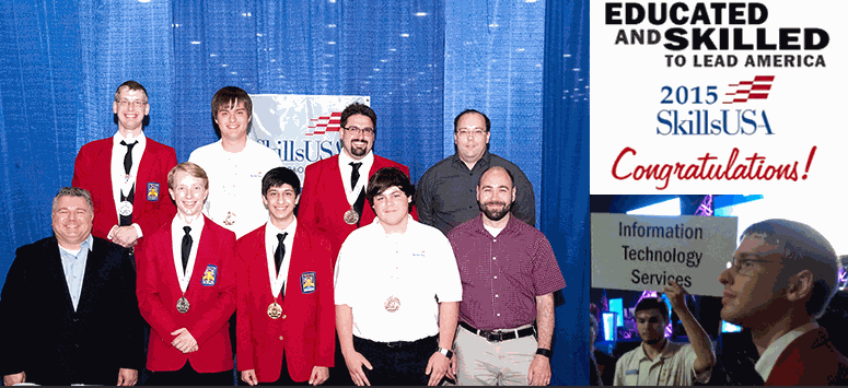 Image for Erwin Student Wins Big at SkillsUSA National Competition