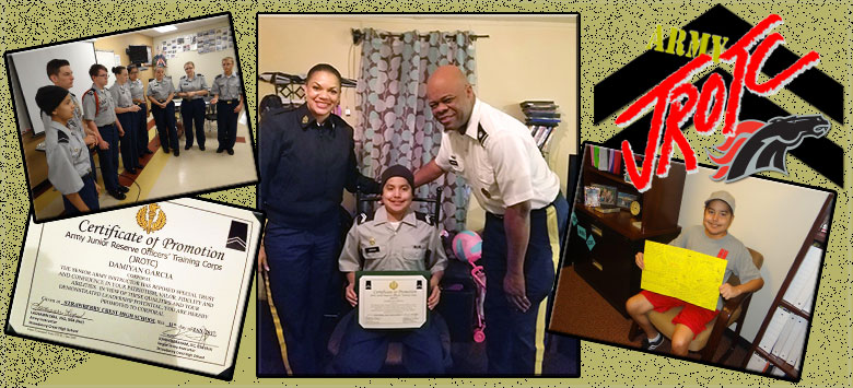 Image for JROTC Cadet shows courage in overcoming personal challenge