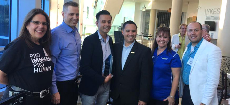 Image for HCPS Chief of Staff Named Latino Administrator of the Year