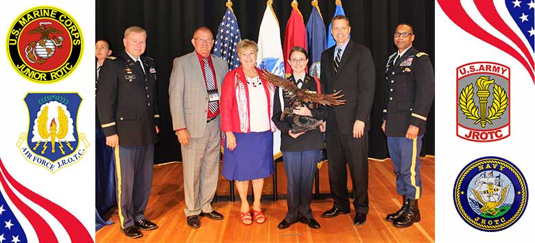 Image for HCPS celebrates JROTC cadets during the Cadet of the Year ceremony