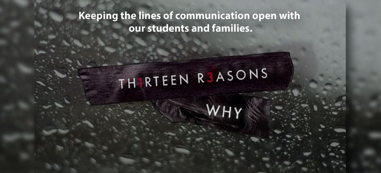 Image for Netflix series is a concern for parents and school officials
