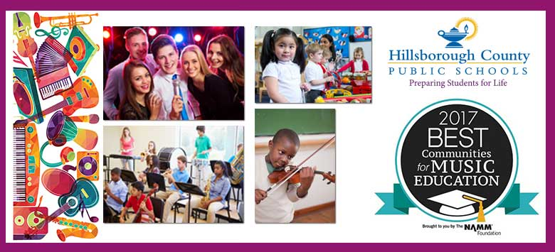 Image for HCPS Recognized as One of the Best in the Nation for Music Education