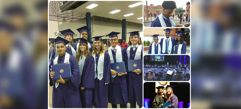 Image for Collegiate Academy Students Earn AA Degree Before High School Diploma