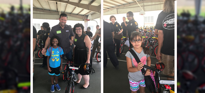 Image for Local Students Benefit from Bike Giveaway