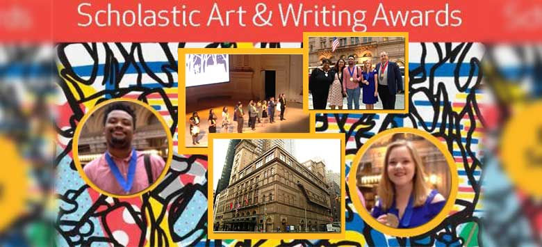 Image for Hillsborough Students Honored with National Art and Writing Awards