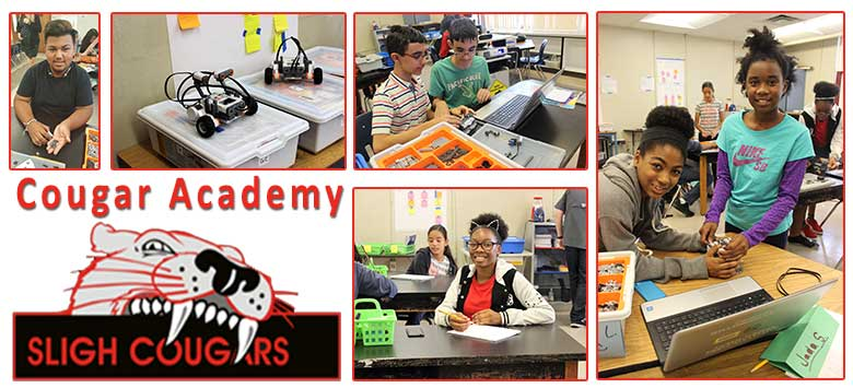 Image for  The Sligh Middle Magnet Cougar Academy