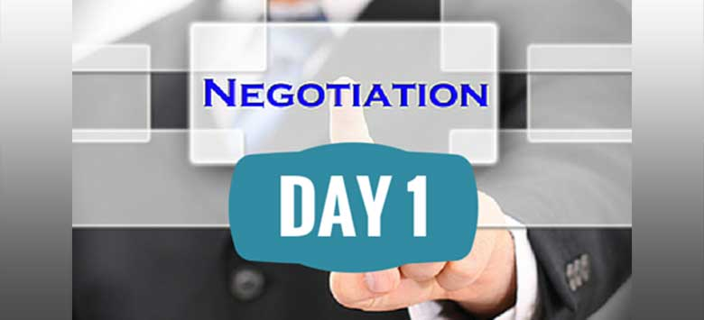 Image for Bargaining negotiations begin
