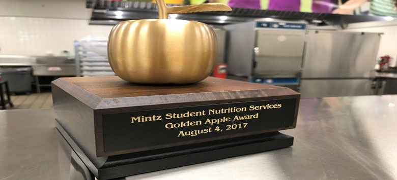 Image for Mintz SNS Honored for Serving up Meals and Care for Kids
