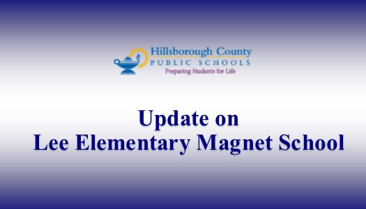 Image for Update on Lee Elementary Magnet School