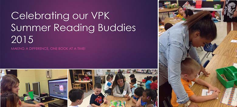 Image for Spotlight on VPK Summer Reading Buddies Volunteers