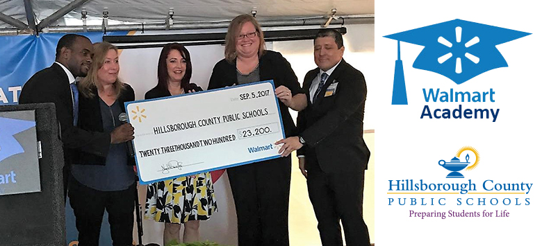 Image for Walmart Academy supports ESE student-based businesses