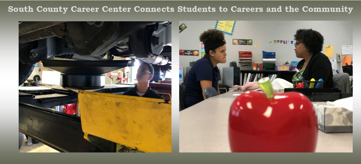 Image for South County Career Center Connects Students to Careers and the Community